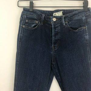 Free People High-Waisted Skinny Jeans